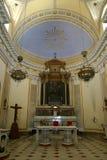 Panarea的圣彼得罗教会 库存照片