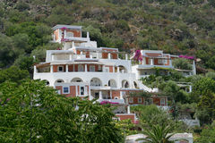 Panarea Hillside Royalty Free Stock Photos