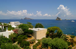 Panarea Seaside Vista Stock Photography