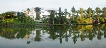 Panaroma садов заливом Стоковая Фотография RF