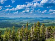 Panaroma of Adirondack Mountains Stock Image