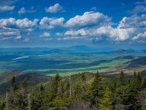 Panaroma of Adirondack Mountains Royalty Free Stock Images