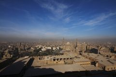 Panaroma of Cairo Royalty Free Stock Images