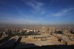 Panaroma de El Cairo imágenes de archivo libres de regalías