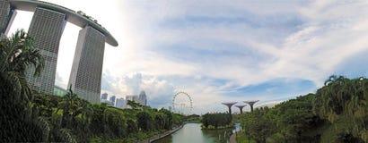 Panaroma di Singapore Fotografia Stock