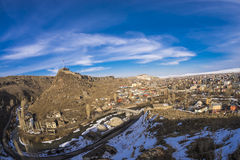 Panaroma in Kars Royalty Free Stock Images