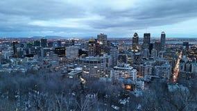 Panaroma Montréal stockbild