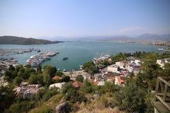 Panaromic-Ansicht von Fethiye Lizenzfreies Stockbild