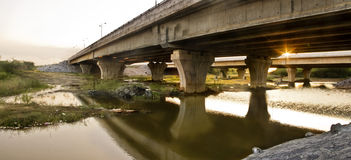 Panaromic Bridge Royalty Free Stock Photography