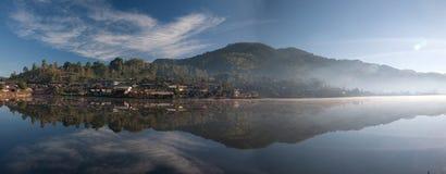 panaromic sikt för berg Fotografering för Bildbyråer