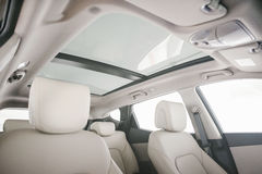 Panaromic Sunroof Royalty Free Stock Images