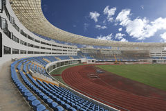 Panaromic view of stadium Stock Image