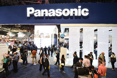 Panasonic extasia em CES 2016 Imagens de Stock Royalty Free