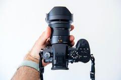 Panasonic Leica DG Vario-Elmarit 8-18mm obiektyw GH5 Zdjęcia Royalty Free