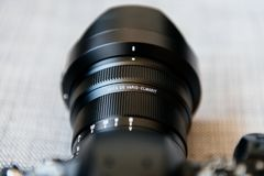 Panasonic Leica DG Vario-Elmarit 8-18mm obiektyw GH5 Zdjęcia Stock