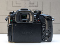 Panasonic Lumix DMC-GH4  mirrorless camera Stock Images