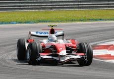 Panasonic Toyota Racing TF107 royalty free stock photo