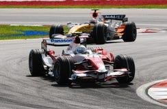 Panasonic Toyota Racing TF107  Stock Photography