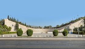 Стадион Panathenaic в Афинах, Греции Стоковое Изображение RF