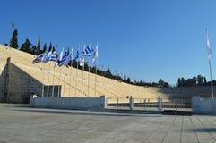 Panathenaic Olympic Stadium в Афинах Стоковое Изображение RF