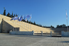 Panathenaic Olympic Stadium in Athens Royalty Free Stock Image