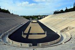 Panathenaic sport stadium in athens greece photography Royalty Free Stock Photography