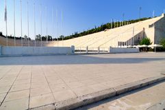panathenaic stadion Fotografering för Bildbyråer