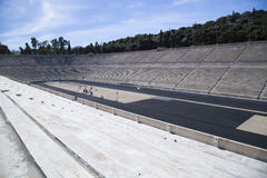Panathenaic stadion i Aten Arkivbilder