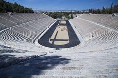 Panathenaic stadion i Aten Arkivbild