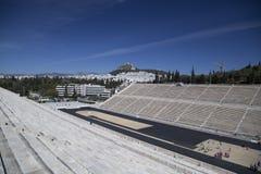 Panathenaic stadion i Aten Arkivfoto