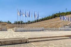 Panathenaic stadium, Ateny Zdjęcie Stock