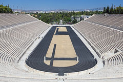 The Panathenaic Stadium in Athens Royalty Free Stock Image