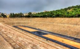 Panathenaic Stadium in Athens Royalty Free Stock Photos