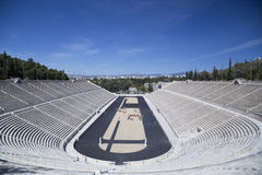 Panathenaic Stadium in Athens. Greece Royalty Free Stock Image
