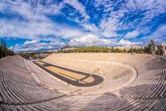 Panathenaic stadium in Athens, Greece Royalty Free Stock Photography
