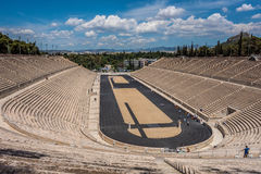 The Panathenaic Stadium, Athens, Greece. The first olympic stadium, in Athens Greece Stock Photography