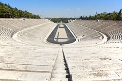 Panathenaic stadium in Athens. Greece Royalty Free Stock Images