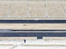 Panathenaic Stadium in Athens, Greece. The olympic Panathenaic Stadium in Athens, Greece Royalty Free Stock Photo