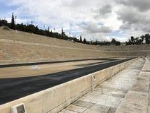 Panathenaic Stadium in Athens, Greece. The olympic Panathenaic Stadium in Athens, Greece Stock Image