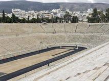 Panathenaic Stadium in Athens, Greece. The olympic Panathenaic Stadium in Athens, Greece Royalty Free Stock Photography
