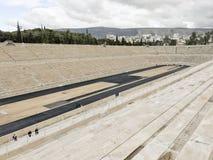 Panathenaic Stadium in Athens, Greece. The olympic Panathenaic Stadium in Athens, Greece Stock Photos