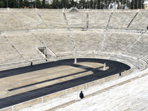 Panathenaic Stadium in Athens, Greece. The olympic Panathenaic Stadium in Athens, Greece Stock Images