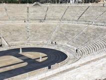 Panathenaic Stadium in Athens, Greece. The olympic Panathenaic Stadium in Athens, Greece Royalty Free Stock Image