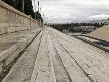 Panathenaic Stadium in Athens, Greece. The olympic Panathenaic Stadium in Athens, Greece Stock Photo