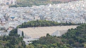 Panathenaic stadium in Athens, Greece Stock Image