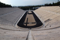 The Panathenaic Stadium, Athens, Greece Stock Image