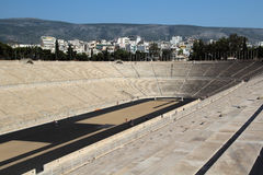 The Panathenaic Stadium, Athens, Greece Royalty Free Stock Photo