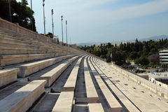 The Panathenaic Stadium, Athens, Greece Stock Image