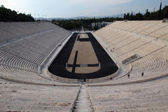 The Panathenaic Stadium, Athens, Greece Royalty Free Stock Images