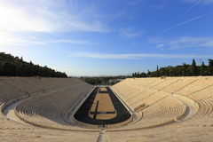 Panathenaic stadium at Athens, Greece Stock Photo